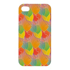 Birthday Balloons Apple Iphone 4/4s Premium Hardshell Case by Nexatart