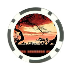 Autumn Song Autumn Spreading Its Wings All Around Poker Chip Card Guard (10 Pack) by Nexatart