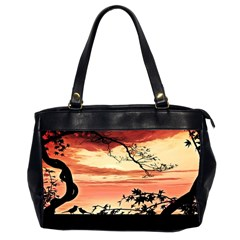 Autumn Song Autumn Spreading Its Wings All Around Office Handbags (2 Sides)  by Nexatart
