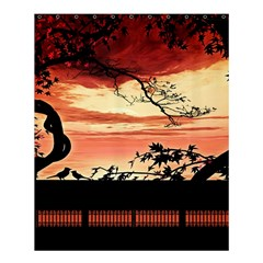 Autumn Song Autumn Spreading Its Wings All Around Shower Curtain 60  X 72  (medium)  by Nexatart