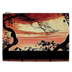 Autumn Song Autumn Spreading Its Wings All Around Cosmetic Bag (xxl)  by Nexatart