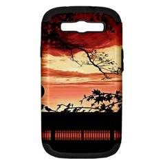 Autumn Song Autumn Spreading Its Wings All Around Samsung Galaxy S Iii Hardshell Case (pc+silicone) by Nexatart