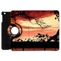 Autumn Song Autumn Spreading Its Wings All Around Apple Ipad Mini Flip 360 Case by Nexatart