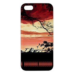 Autumn Song Autumn Spreading Its Wings All Around Apple Iphone 5 Premium Hardshell Case