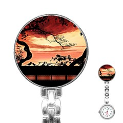 Autumn Song Autumn Spreading Its Wings All Around Stainless Steel Nurses Watch by Nexatart