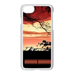 Autumn Song Autumn Spreading Its Wings All Around Apple Iphone 7 Seamless Case (white) by Nexatart