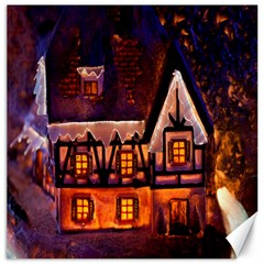 House In Winter Decoration Canvas 20  X 20   by Nexatart