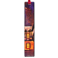House In Winter Decoration Large Book Marks by Nexatart