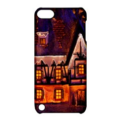 House In Winter Decoration Apple Ipod Touch 5 Hardshell Case With Stand