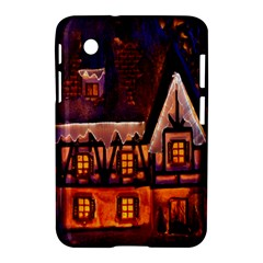House In Winter Decoration Samsung Galaxy Tab 2 (7 ) P3100 Hardshell Case  by Nexatart