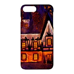 House In Winter Decoration Apple Iphone 7 Plus Hardshell Case