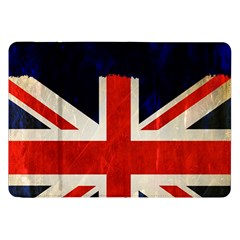 Flag Of Britain Grunge Union Jack Flag Background Samsung Galaxy Tab 8 9  P7300 Flip Case by Nexatart