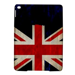 Flag Of Britain Grunge Union Jack Flag Background Ipad Air 2 Hardshell Cases