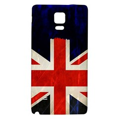 Flag Of Britain Grunge Union Jack Flag Background Galaxy Note 4 Back Case