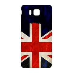 Flag Of Britain Grunge Union Jack Flag Background Samsung Galaxy Alpha Hardshell Back Case by Nexatart