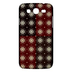 Decorative Pattern With Flowers Digital Computer Graphic Samsung Galaxy Mega 5 8 I9152 Hardshell Case  by Nexatart