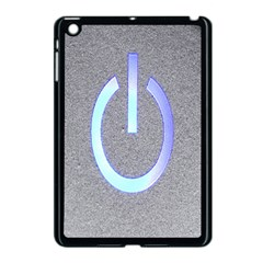 Close Up Of A Power Button Apple Ipad Mini Case (black) by Nexatart
