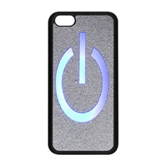 Close Up Of A Power Button Apple Iphone 5c Seamless Case (black) by Nexatart
