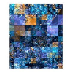 Blue Squares Abstract Background Of Blue And Purple Squares Shower Curtain 60  X 72  (medium)  by Nexatart