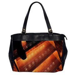Magic Steps Stair With Light In The Dark Office Handbags (2 Sides)  by Nexatart