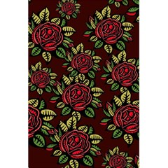 A Red Rose Tiling Pattern 5 5  X 8 5  Notebooks by Nexatart