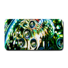 Dark Abstract Bubbles Medium Bar Mats by Nexatart
