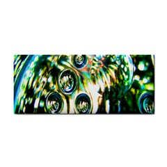 Dark Abstract Bubbles Cosmetic Storage Cases by Nexatart