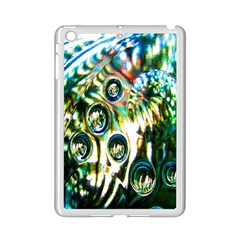 Dark Abstract Bubbles Ipad Mini 2 Enamel Coated Cases by Nexatart