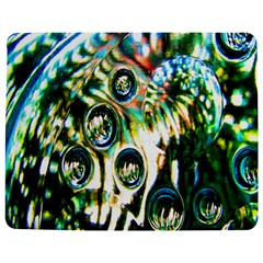 Dark Abstract Bubbles Jigsaw Puzzle Photo Stand (rectangular) by Nexatart