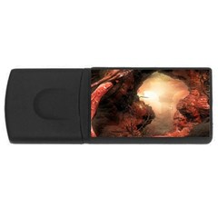 3d Illustration Of A Mysterious Place Usb Flash Drive Rectangular (4 Gb) by Nexatart