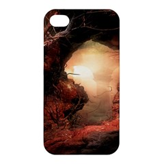 3d Illustration Of A Mysterious Place Apple Iphone 4/4s Premium Hardshell Case by Nexatart