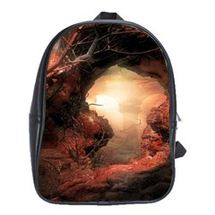3d Illustration Of A Mysterious Place School Bags (xl)  by Nexatart