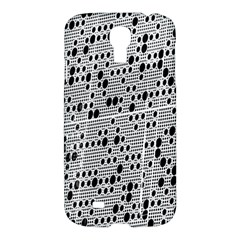 Metal Background With Round Holes Samsung Galaxy S4 I9500/i9505 Hardshell Case by Nexatart
