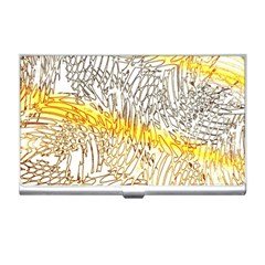 Abstract Composition Digital Processing Business Card Holders