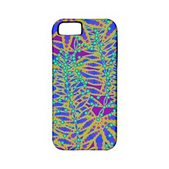 Abstract Floral Background Apple Iphone 5 Classic Hardshell Case (pc+silicone) by Nexatart
