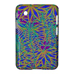 Abstract Floral Background Samsung Galaxy Tab 2 (7 ) P3100 Hardshell Case  by Nexatart