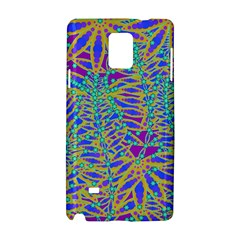Abstract Floral Background Samsung Galaxy Note 4 Hardshell Case