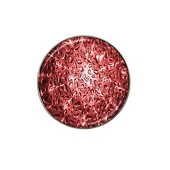 Water Drops Red Hat Clip Ball Marker by Nexatart