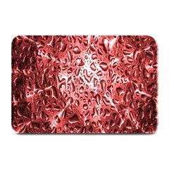 Water Drops Red Plate Mats by Nexatart