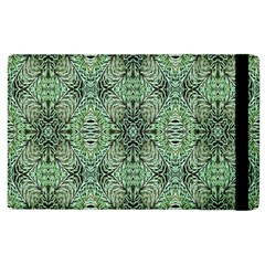 Seamless Abstraction Wallpaper Digital Computer Graphic Apple Ipad 2 Flip Case by Nexatart