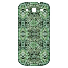 Seamless Abstraction Wallpaper Digital Computer Graphic Samsung Galaxy S3 S Iii Classic Hardshell Back Case by Nexatart