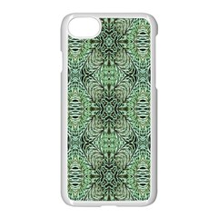 Seamless Abstraction Wallpaper Digital Computer Graphic Apple Iphone 7 Seamless Case (white)