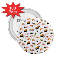 Sushi Lover 2 25  Buttons (100 Pack)  by tarastyle