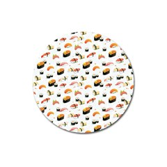 Sushi Lover Magnet 3  (round) by tarastyle