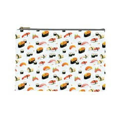 Sushi Lover Cosmetic Bag (large)  by tarastyle