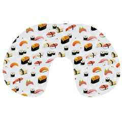 Sushi Lover Travel Neck Pillows by tarastyle