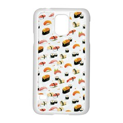 Sushi Lover Samsung Galaxy S5 Case (white) by tarastyle