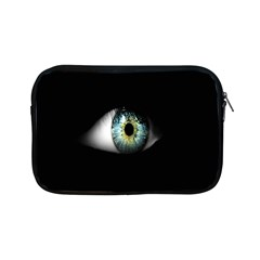 Eye On The Black Background Apple Ipad Mini Zipper Cases