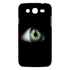 Eye On The Black Background Samsung Galaxy Mega 5 8 I9152 Hardshell Case  by Nexatart