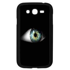 Eye On The Black Background Samsung Galaxy Grand Duos I9082 Case (black) by Nexatart